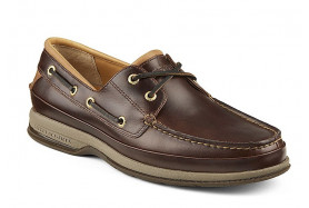 Women's Gold Cup ASV 2-Eye Boat Shoe (Wide)
