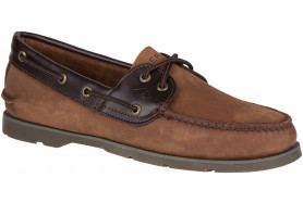 Men's Leeward 2-Eye Nubuck Boat Shoe