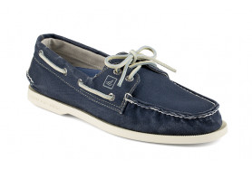 Authentic Original 2-Eye Canvas Boat Shoe