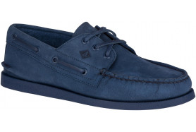 AUTHENTIC ORIGINAL 2-Eye Flooded Nubuck Boat Shoe