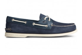 Men's A/O 2-EYE Leather Boat Shoe Tumbled