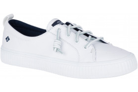 Women's CREST VIBE CREPE Leather Sneaker